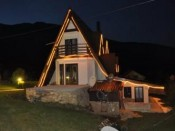 Villa Damaja by night