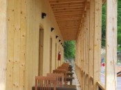 Das terrase auf hotel Tuto