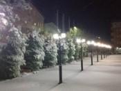 Дебар во зима