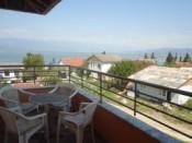 Ansicht von Dojran See