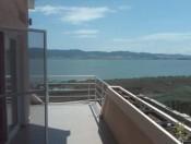 Blick auf See Dojran