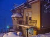 Villa Papu in winter