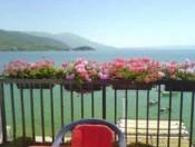 Blick nach Ohrid See