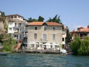 Villa Grdan from the lake