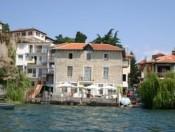 Villa Grdan aus dem See