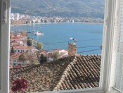 View of Ohrid lake