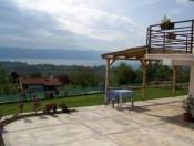 View to Ohrid lake