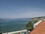 View from Villa Urbana Ohrid