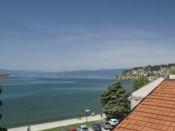 Поглед од Вила Урбана Охрид