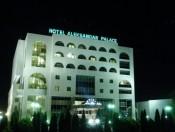 Hotel Aleksandar Palace by night