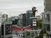 Поглед на плоштад Македонија