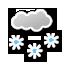 Tetovo: Schnee